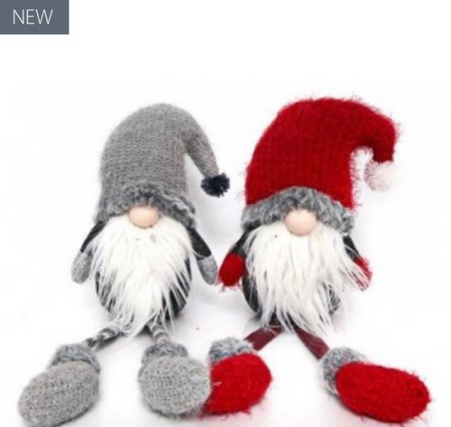 Grey & Red Santa Gonk 50cm - The Perfect Gift Co.