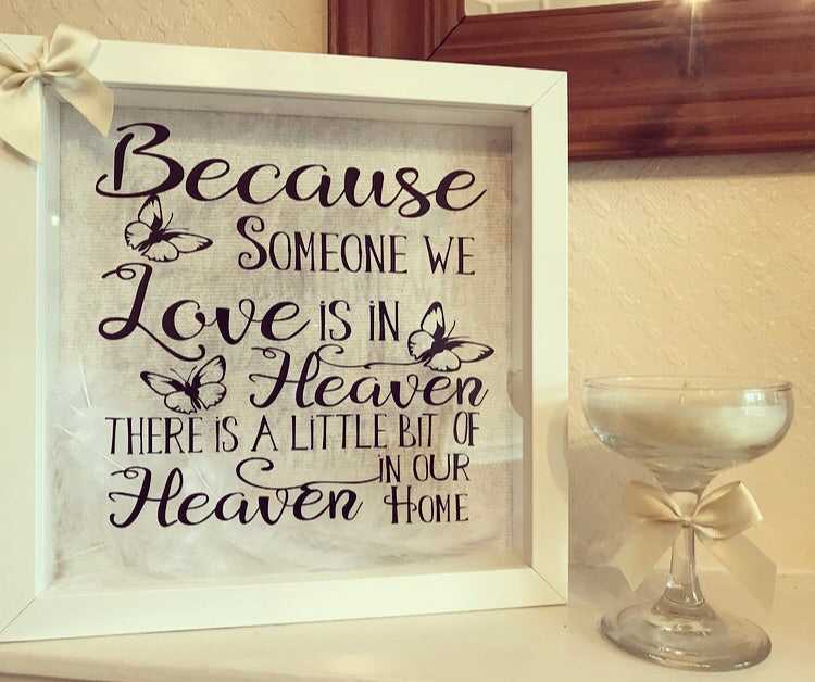 Heaven Quote / Memory Frame - The Perfect Gift Co.
