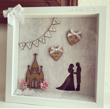 Wedding Frame Grey/ silver Backdrop - The Perfect Gift Co.