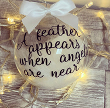 Heaven Memory Bauble style3 feathers appear - The Perfect Gift Co.