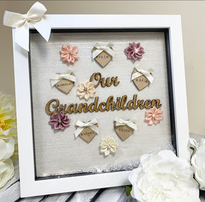 Our Grandchildren Frame up to 5 Names (20cm frame)