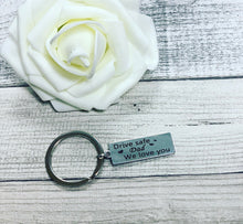 "Novelty Mini Stainless Steel Keyring ""dad, we love you"" - The Perfect Gift Co."