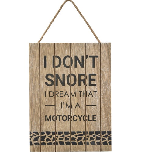 Snoring Plaque - The Perfect Gift Co.
