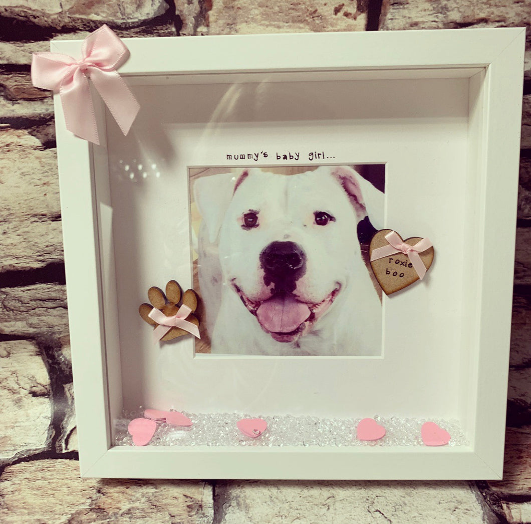 Memory loss frame custom words, dog/ pet collection - The Perfect Gift Co.