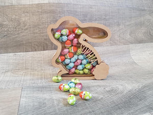 Personalised Easter Bunny box for chocolate 18cm  (4 week turn around) - The Perfect Gift Co.