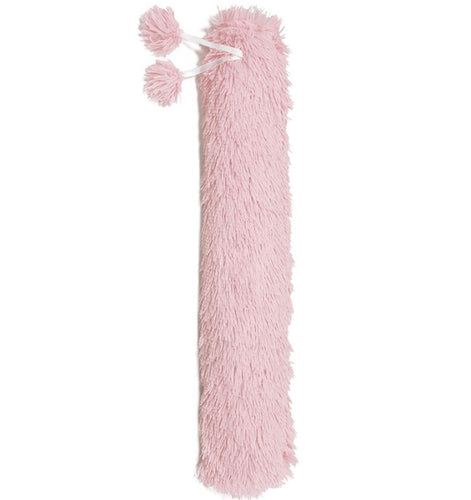 Fluffy Long Hot Water Bottle Pink