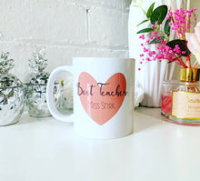 Teacher Name Mug