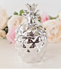 Silver pineapple Candles set of 2 (last set) - The Perfect Gift Co.