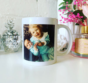 Father's Day Photo design mug (2 images)