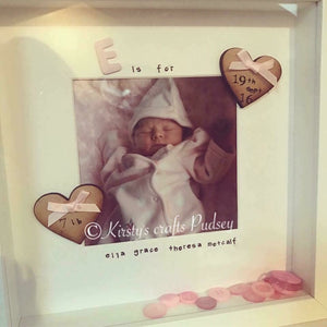 """S"" is for .... (Any letter any picture) & Birth Detail - The Perfect Gift Co."