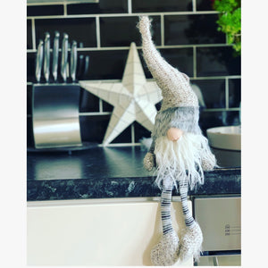 Grey Fuzzy Bearded Gonk 50cm - The Perfect Gift Co.