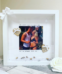 Baby shower personalised frame - The Perfect Gift Co.