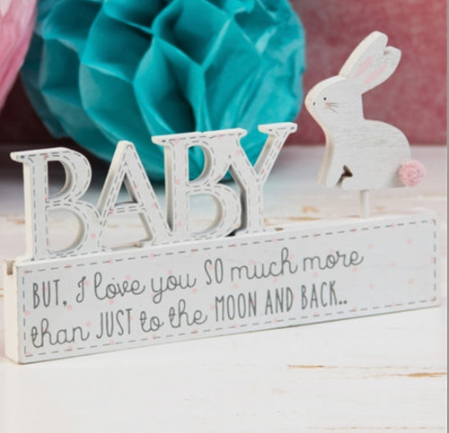 Baby Girl Mantel plaque