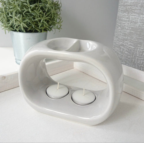 Duo Ceramic Burner - Grey