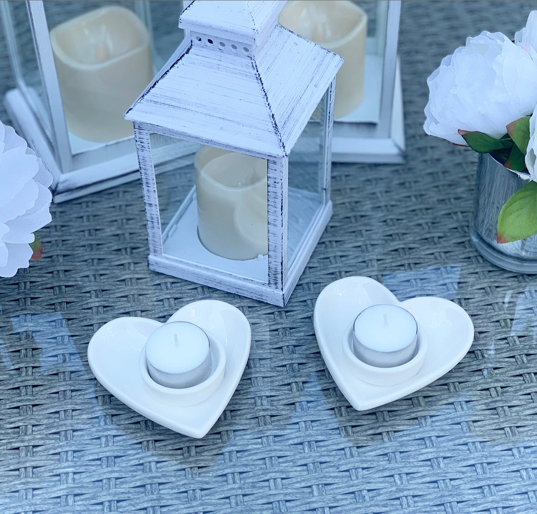 1 Heart Tea Light Holder
