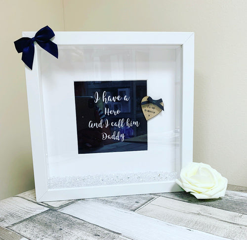 Personalised Daddy / Hero Frame (one child) - The Perfect Gift Co.