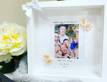 """Happy 40th Birthday"" Frame  (any milestone, leave at checkout) flowers - The Perfect Gift Co."