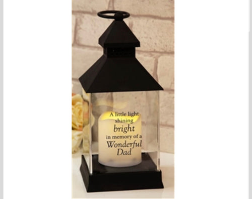 Graveside Lantern - Dad - The Perfect Gift Co.