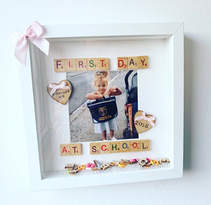 First Day Of School Full Scrabble - The Perfect Gift Co.