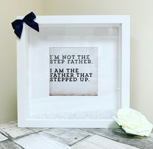 Personalised Step Dad Frame - The Perfect Gift Co.