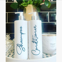 "Personalised Pump Bottle ""any wording"" Black font - The Perfect Gift Co."