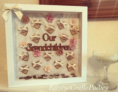 Our Grandchildren Frame 10 -16 Names - The Perfect Gift Co.