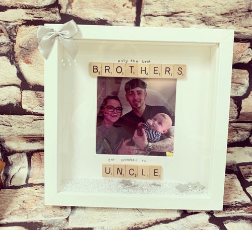 Scrabble Art Brother/ Uncle - The Perfect Gift Co.