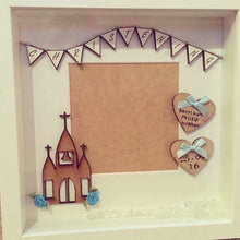 Personalised Christening Boy Frame - The Perfect Gift Co.