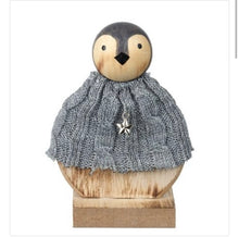 Wooden Penguin with jumper set of 2 - The Perfect Gift Co.