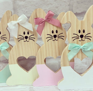 Personalised Pastel Wooden Rabbit / Bunny - The Perfect Gift Co.