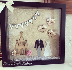 Wedding Frame Gold Backdrop - The Perfect Gift Co.