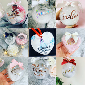 Surprise Personalised Bauble - The Perfect Gift Co.