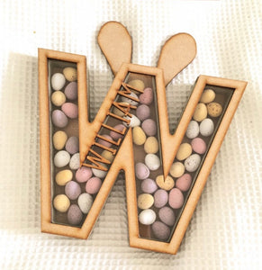 Personalised Easter Bunny Ears box for chocolate 18cm  (4 week turn around) - The Perfect Gift Co.