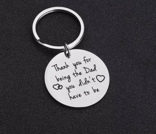 Novelty Mini Stainless Steel Keyring - The Perfect Gift Co.