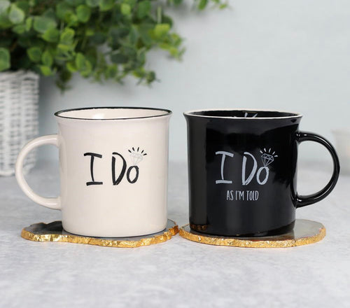 I do as I'm told mug set