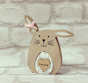 PERSONALISED Cute Rabbits - The Perfect Gift Co.