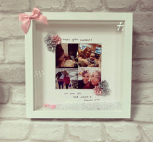 """Happy 30th Birthday"" Frame  (any milestone, leave at checkout) silk flowers - The Perfect Gift Co."