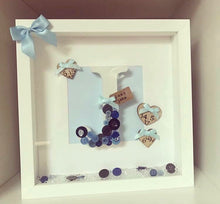 New Baby Arrival Frame Boy Themed 2 - The Perfect Gift Co.