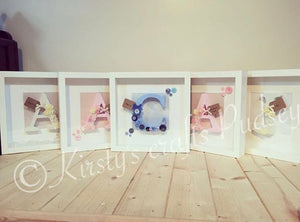 New Baby Arrival Frame Girl (any colour themes) - The Perfect Gift Co.