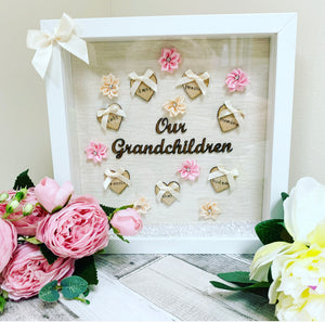 Our Grandchildren Frame up to 10 Names
