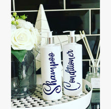 "Personalised Pump Bottle ""any wording"" Navy - The Perfect Gift Co."
