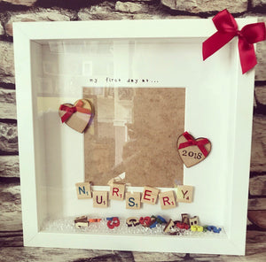First Day Of School Print & Scrabble - The Perfect Gift Co.