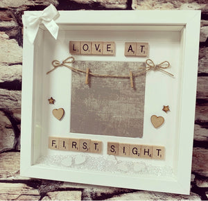 Scan Photo Frame Love at first sight