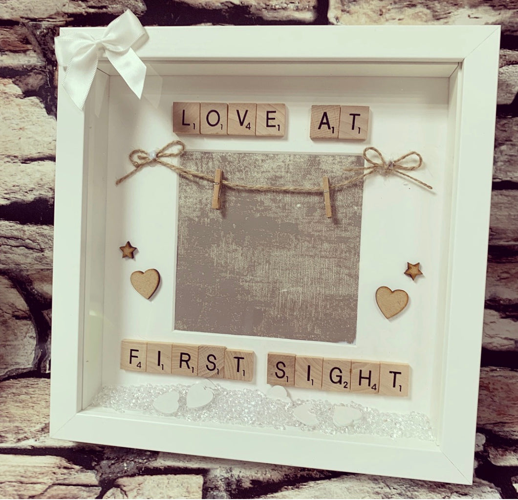Scan Photo Frame Love at first sight - The Perfect Gift Co.