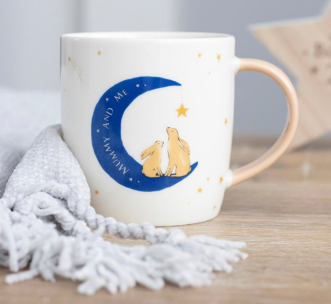Mummy mug (moon)