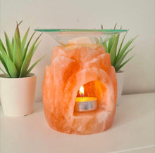 Lotus Flower Himalayan Salt Burner