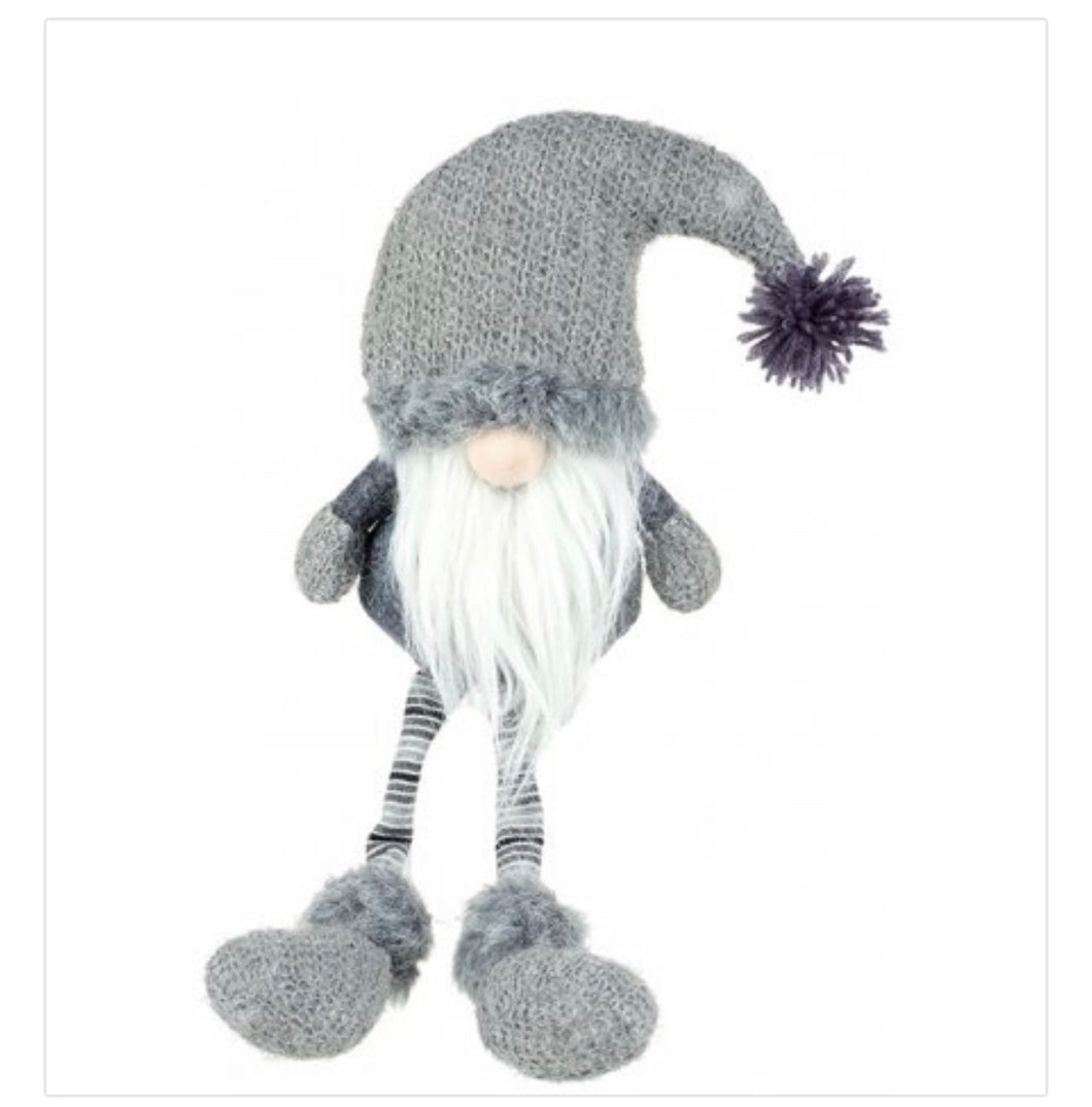 Grey Santa Gonk 32cm - The Perfect Gift Co.