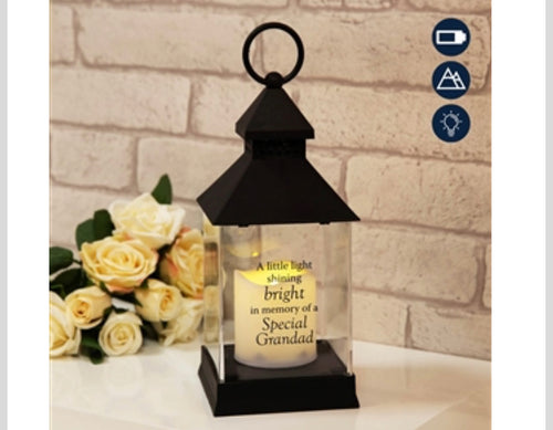 Graveside Lantern - Grandad - The Perfect Gift Co.