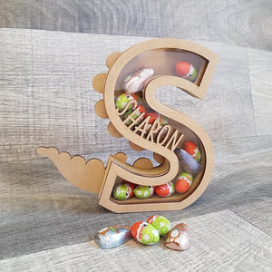 Personalised Easter Dinosaur letter  (4 week turn around) - The Perfect Gift Co.