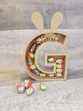 Personalised Easter Bunny Ears box for chocolate 18cm - The Perfect Gift Co.